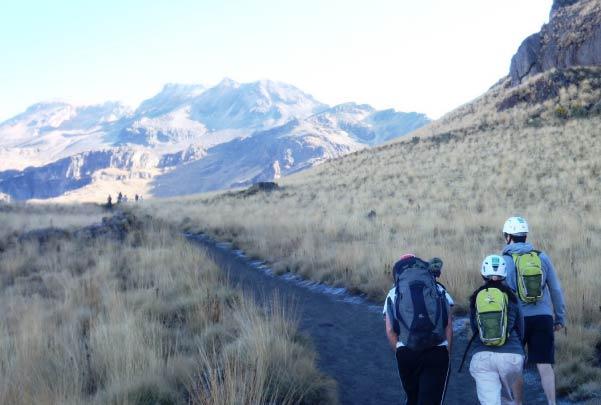 Iztaccíhuatl: Caminata de aclimatación