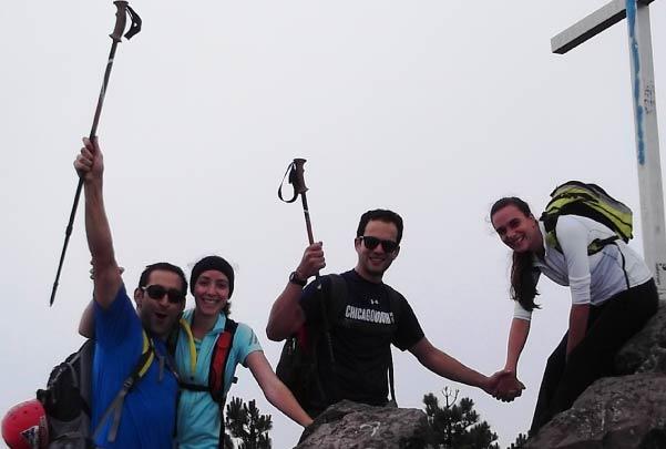 Senderismo Pico del Águila Ajusco