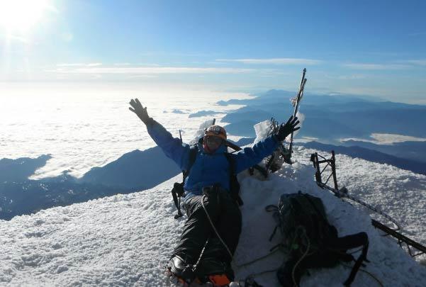 Alpinismo Cima Pico de Orizaba