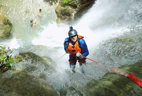 Canyoning Mil Cascadas