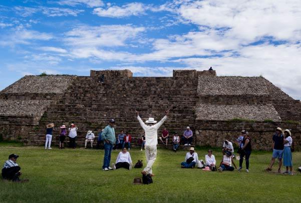 Tour Monte Albán Imperio Zapoteca