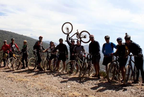 Ruta Bici Ajusco-Tepoztlán