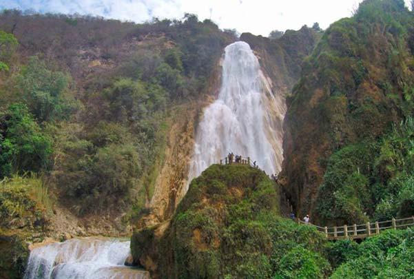 Cascadas el chiflon y lagunas de montebello