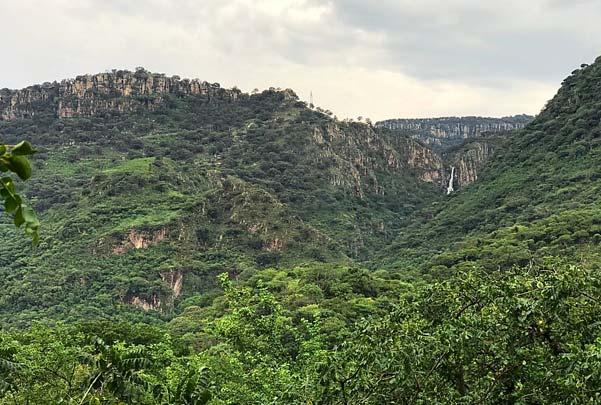 Caminata en Altos de Huaxtla