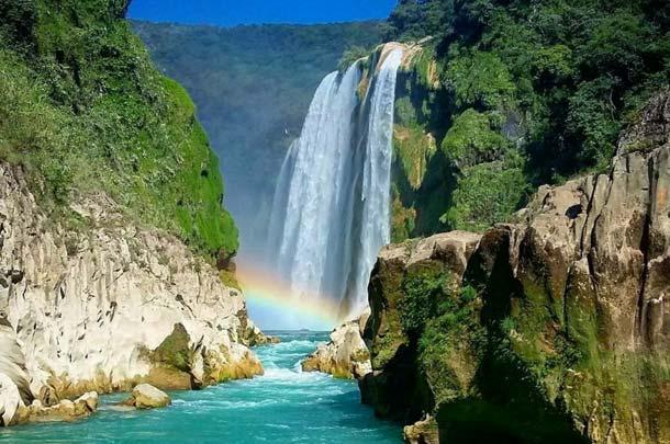 Tour Cascada de Tamul y Cueva de Agua