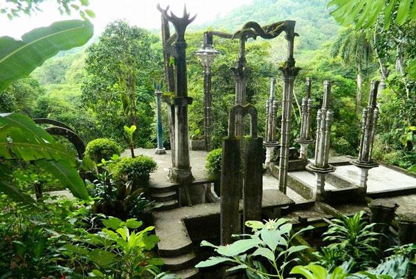 Jardín Surrealista Xilitla  – Castillo De La Salud -  Sótano Huahuas