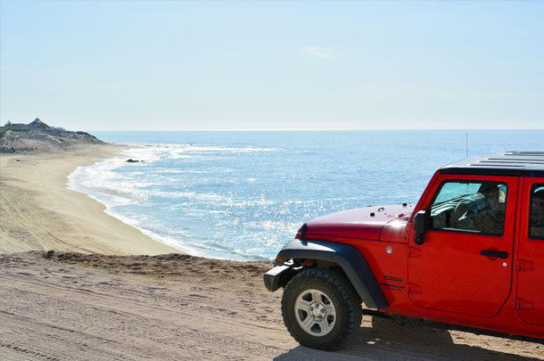 Cabo Pulmo Jeep