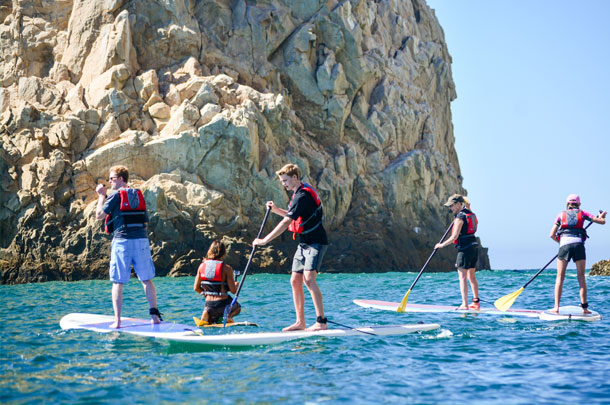 Stand up Paddle y snorkel en el Arco