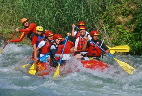 Rafting en Micos