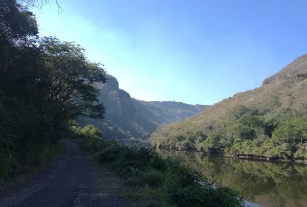 Aguas termales en San Cristobal de la Barranca