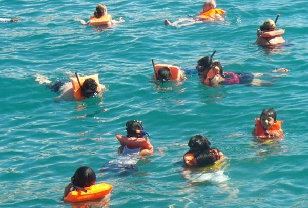 Catamaran esnorkel