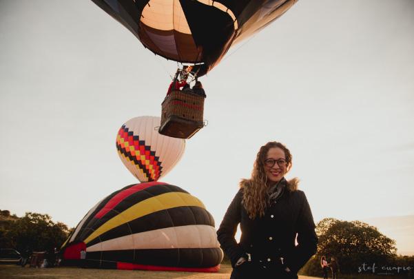 Vuelo en globo aerostático en Huamantla