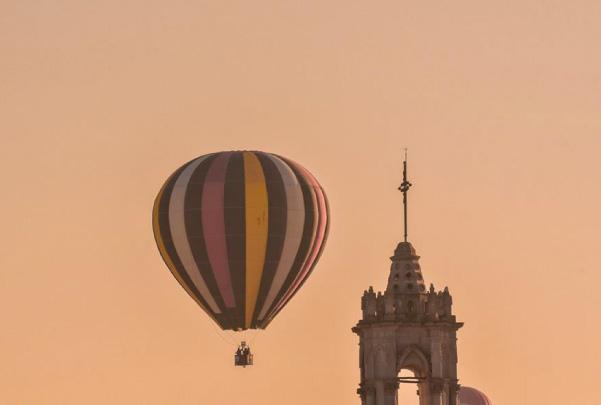 Vuelo en globo aerostático en Jerez